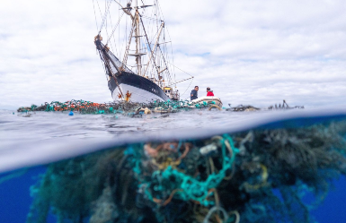 The Ocean Voyages Institute initiative has cleaned up over 100 tons of ocean debris