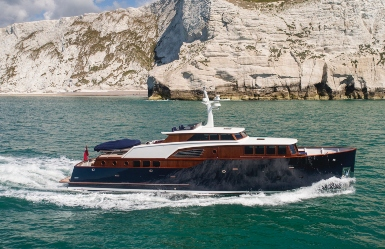 P70 motor yacht unveiled by Spirit Yachts