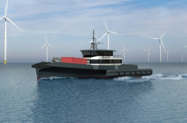 New crew transfer vessel get ABS approval