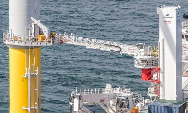 Autonomous Barge Master gangway