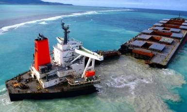 The Panama Maritime Authority continues its investigation into the Wakashio accident. Photo courtesy of Mobilisation Nationale Wakashio