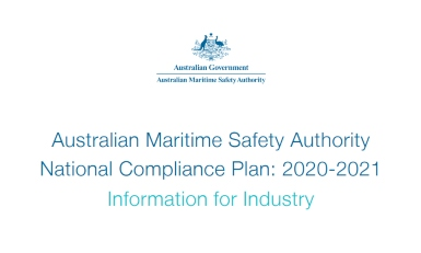 The 2020-2021 AMSA national compliance plan gives details of what to expect from the authority over the coming year