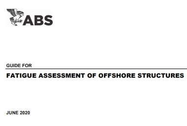 ABS Guide: Fatigue Assessment of Offshore Structures