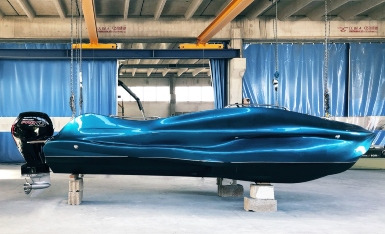 World's first 3D printed fiberglass boat