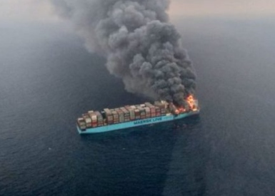Maersk Honam fire - cause is inconclusive