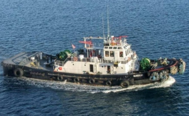 Tugboat Mangilao (Photo: Cabras Marine Corporation / NTSB)