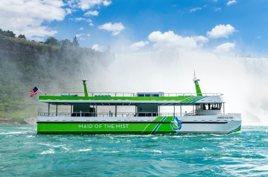 Seven minute recharge for zero-emission ferries for Niagara Falls tour