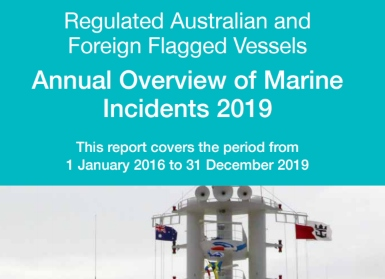 Serious marine incidents increase in 2018-2019 in Australian waters