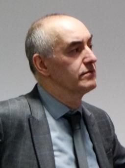 Course tutor, Mike Lewus