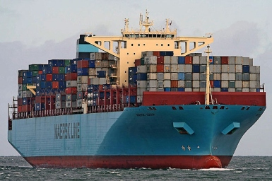 Reported loss of containers overboard from Maersk Essen