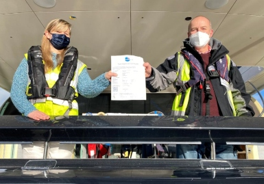 First ever UKCA RCR certificate issued by HPi-CEproof