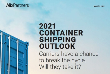 The 2021 Container Shipping Report by Alix Partners asks if carriers will take this chance to break the cycle