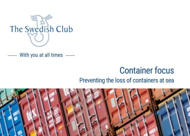 Key loss prevention tips for containers lost overboard published in new guide