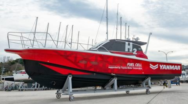 Yanmar underway with field demo testing for hydrogen fuel cell