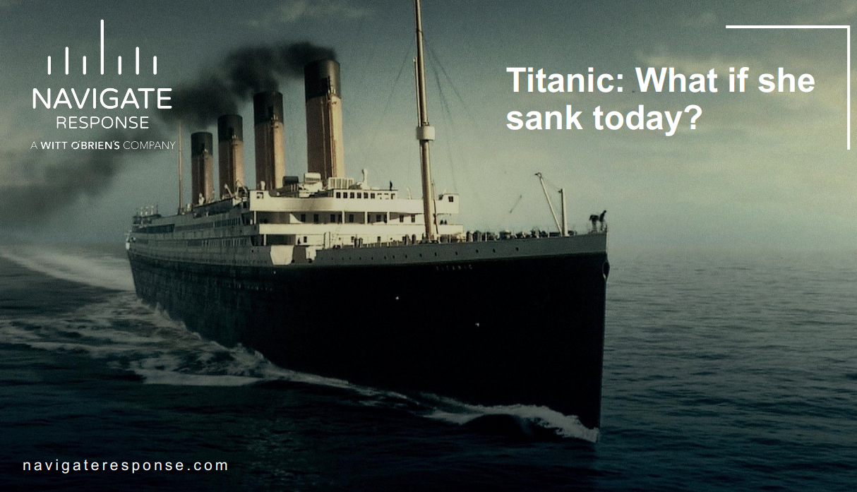 109 years after Titanic sank: What if she sank today?