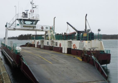 Ferry bottom contact linked to safety management deficiencies