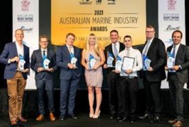 Winners of the 2021 Australian Marine Industry Awards announced