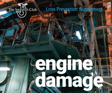 Lubrication oil failure the most common cause of main engine damage