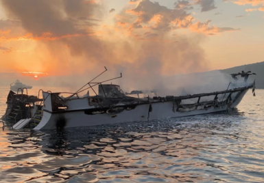 Photo credit: Ventura County Fire Department - AMSA to consider Conception fire NTSB findings when reviewing commercial vessel regulatory requirements