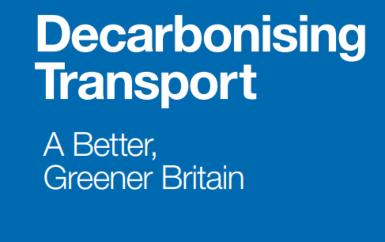 Decarbonisation Transport plan published by UK government