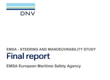 STEERSAFE project report provides analysis of SOLAS regulations on steering and manoeuvrability
