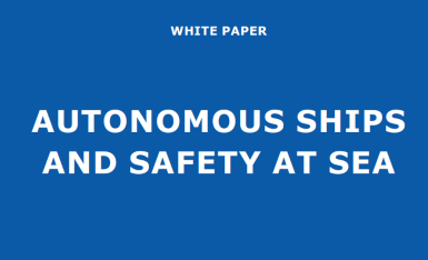 Autonomous ships and safety at sea white paper published