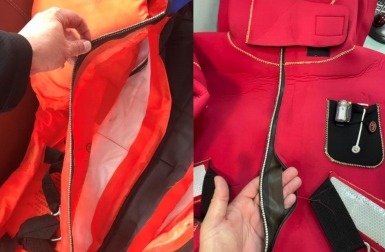 RMI recommends all immersion suits to be checked rather than spot checks following a number of defective items