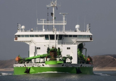 Dredger fire caused by oil contaminated insulation panels reveals FEBIMA report