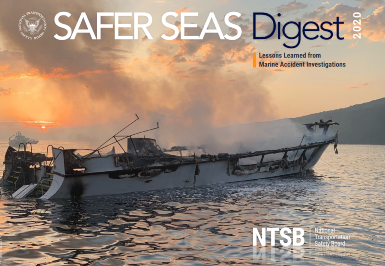 NTSB Safer Seas Digest published and reveals 14 key findings from investigations in 2020