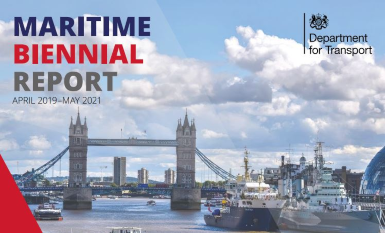 The maritime biennial report by the UK government is available to read