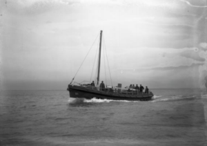 W&S on acceptance trials in February 1931 by Beken of Cowes. Credit RNLI Archive