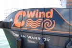 One of the C-Wind wind-farm support boats