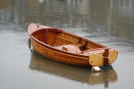 Beautifully crafted, wooden hulled boat