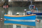Small craft moored in south Devon