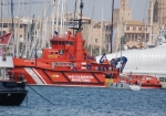 Imposing looking workboat moored in Palma