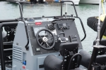Close up of a RIB control lay out