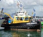 SWS Breda with crane