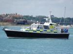 UK police boat