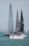 Racing  at Cowes week