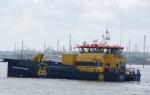 Utility work boat