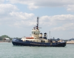 Tug in the Southampton Water