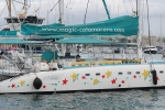 Another highly decorated Majorcan pleasure catamaran