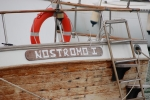 Lovely old craft Nostromo I spotted in Palma port