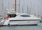 Mangusta moored up in Palma port