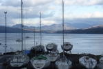 View up the Gairloch in Scotland