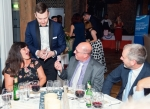 Magician Kevin Starl wows dinner guests with his trickery