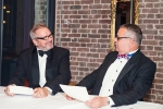 Peter Hancock (left) and Mike Schwarz perform their Two Ronnies sketch