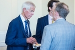 Sir Alan Massey chats with Fraser Noble