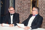 Peter Hancock (left) and Mike Schwarz perform a Two Ronnies news sketch