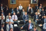 Delegates seated for day two at Lloyd's
